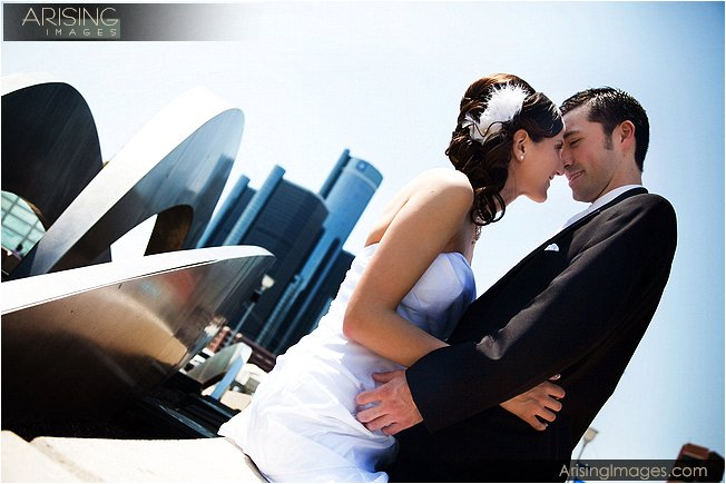 creative and unique wedding photography in metro detroit