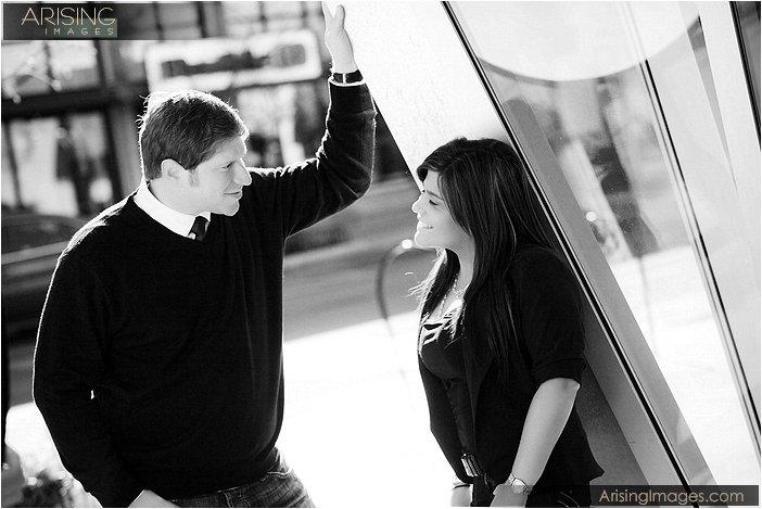 sweet engagement photography mi