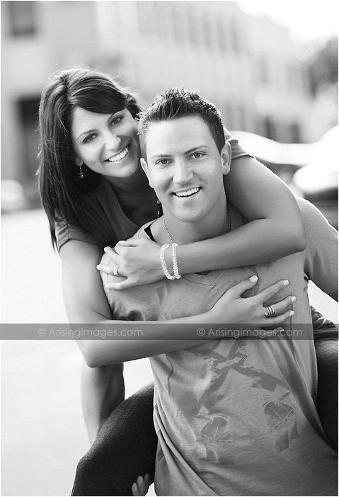 cool engagement photography mi