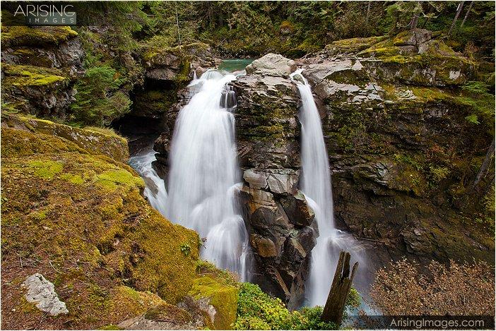 nooksack falls in northern washington