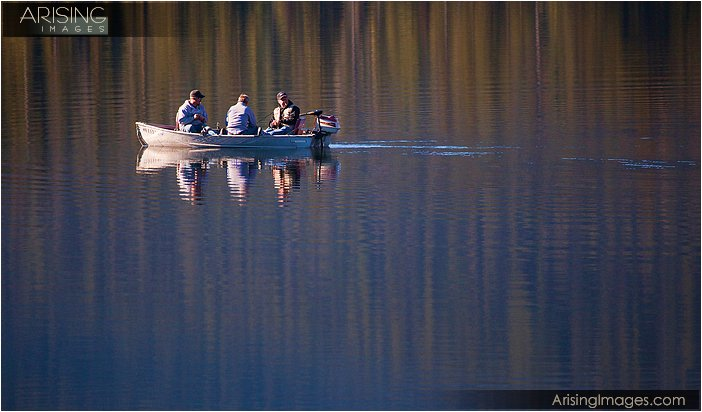 fishing near Mt. Rainier