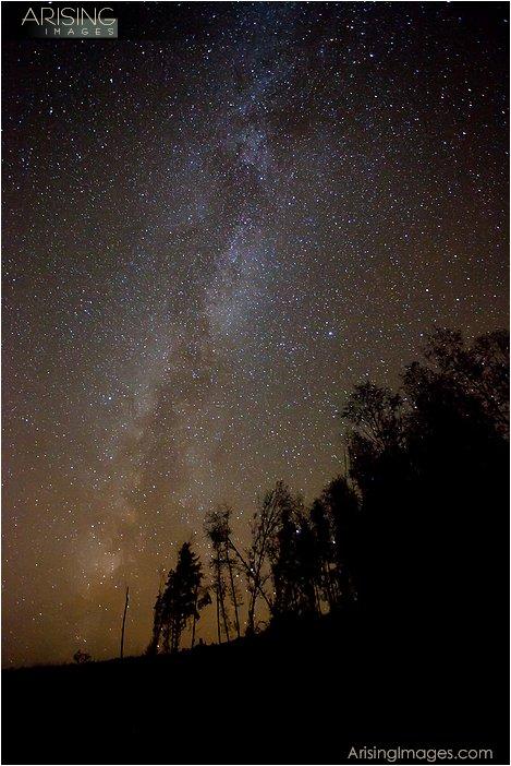 star photography on the Olympic peninsula in northwestern Washington