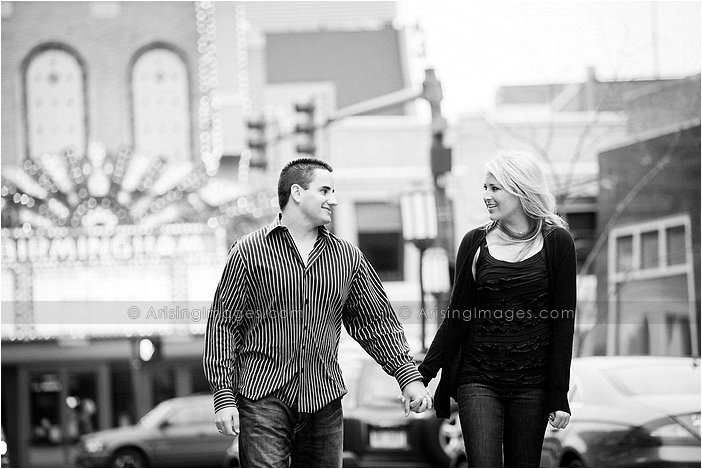 birmingham mi engagement photos