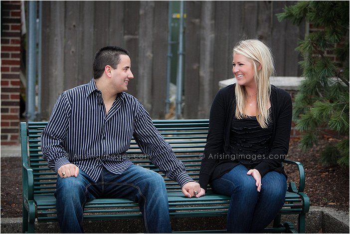 bloomfield mi engagement photos