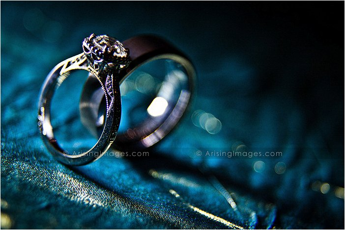 cool photos of wedding rings