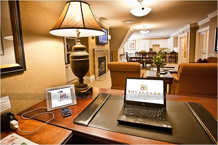 corporate suite at the royal park in rochester, MI