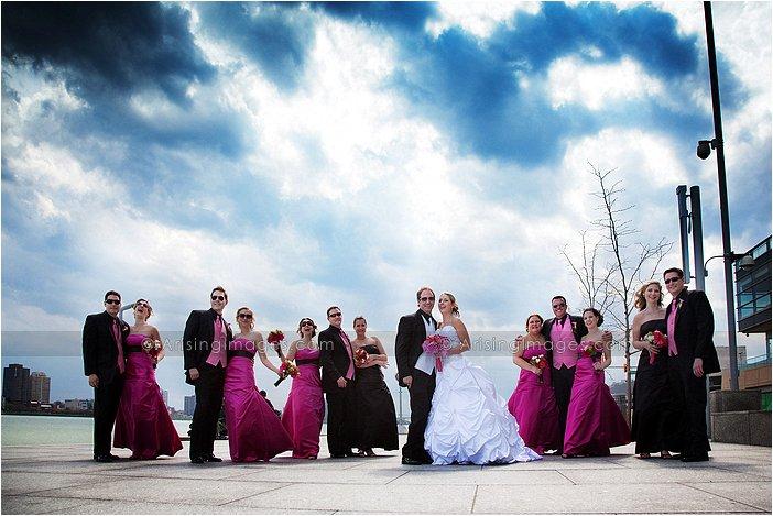 creative wedding photography in michigan