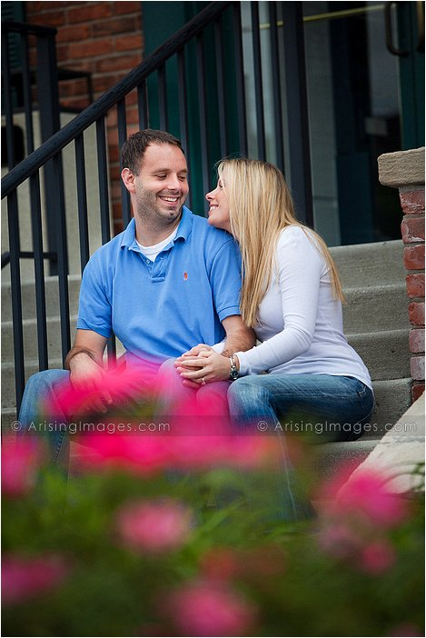 most fun and unique engagement pics in michigan