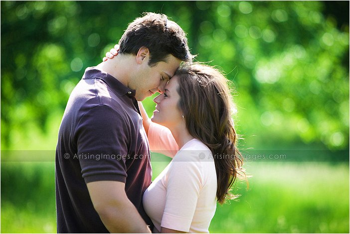 engagement portrait photographer in Lake Orion, michigan