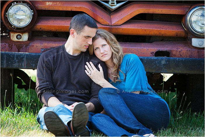 artistic engagement photography in metro detroit