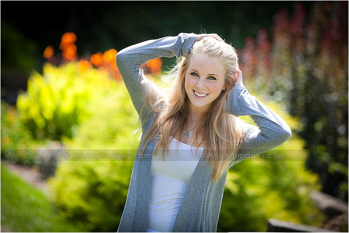 artistic senior photography in west bloomfield, michigan
