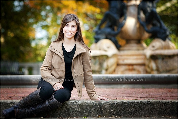 amazing senior photography in bloomfield hills, michigan