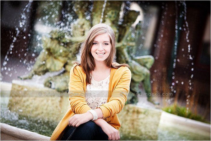 beautiful high school senior photos in macomb county michigan