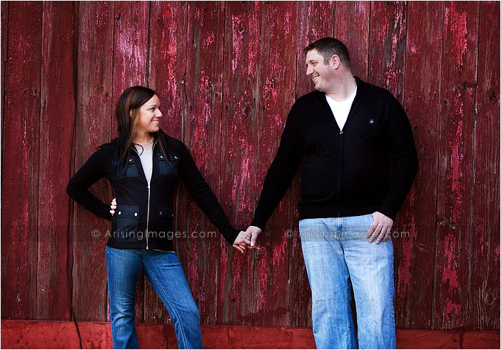 creative engagement photography in detroit, michigan