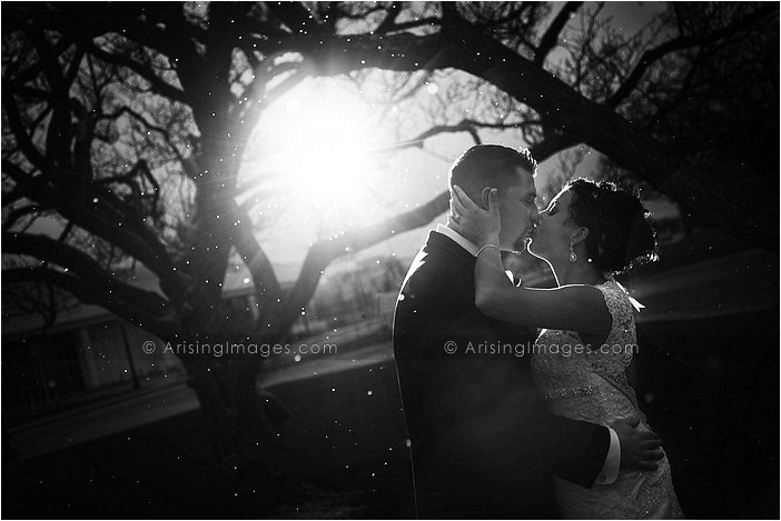magical wedding photography at greenfield village, MI