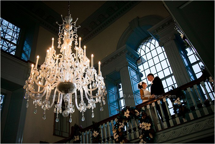 creative wedding photography at henry ford museum, MI