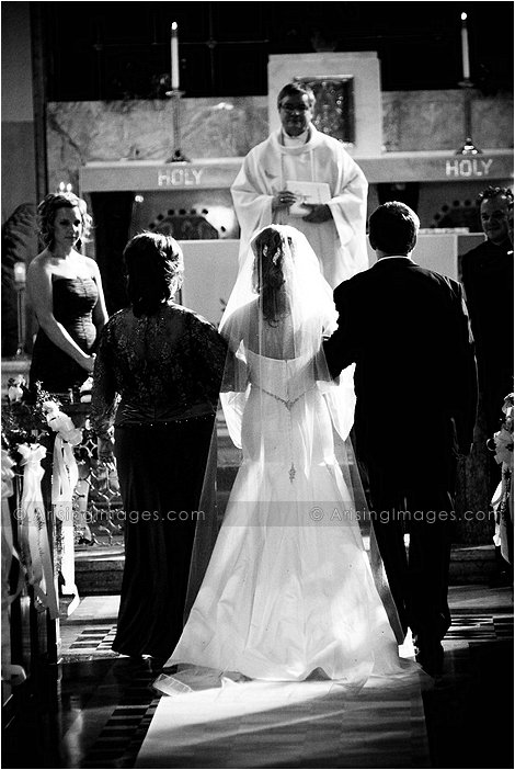 catholic wedding photography in southeast michigan