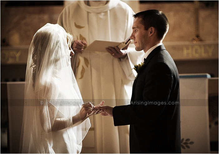 sweet catholic wedding photography in mt. clemens, michigan