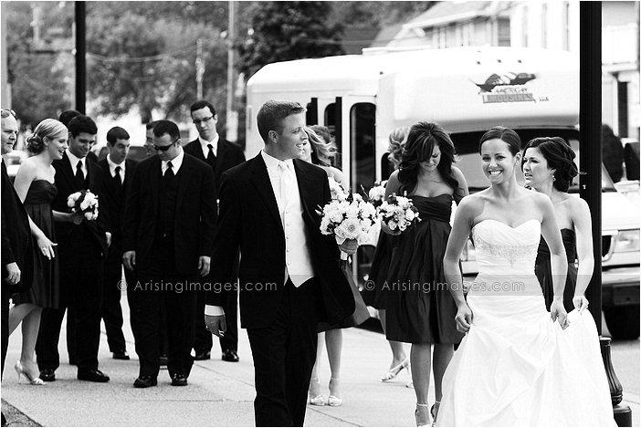 fun catholic wedding photography in mt. clemens, mi