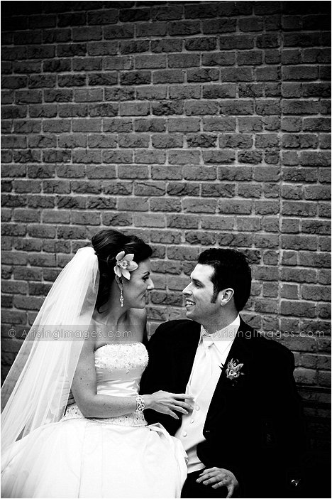 downtown milford, mi wedding photography