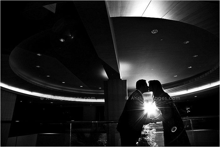 intimate wedding photography at the hyatt dearborn