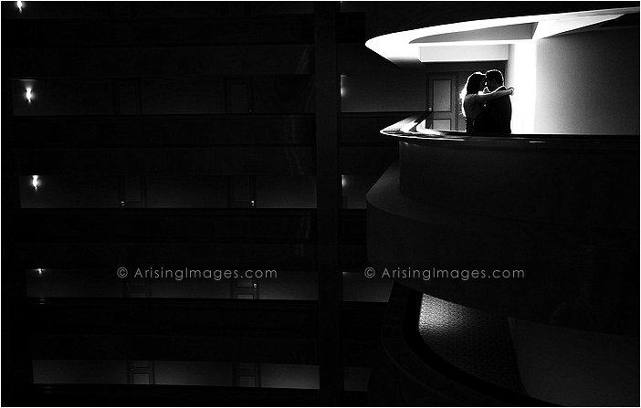 beautiful indoor wedding photography at hyatt dearborn
