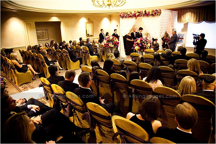 gorgeous knollwood country club wedding ceremony photography