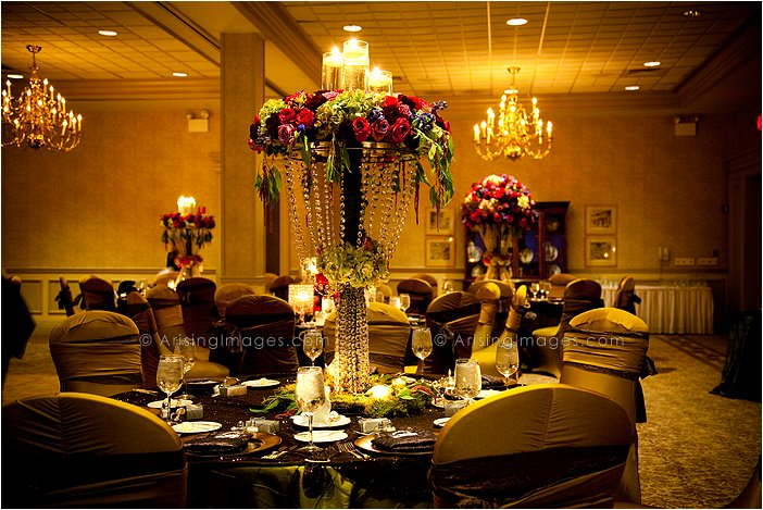 intimate wedding reception photography at knollwood country club