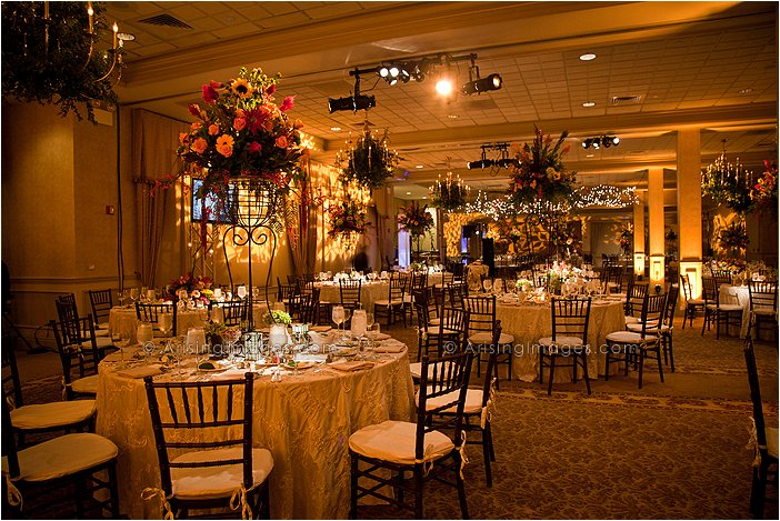 knollwood country club amazing indoor wedding reception photography