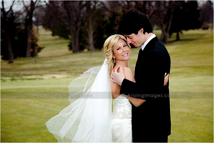 knollwood country club wedding photography on golf course