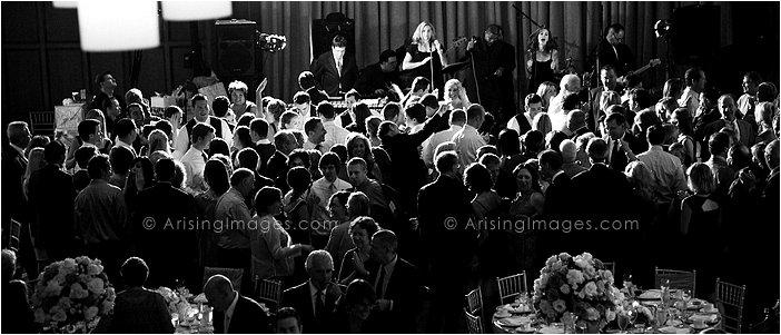 awesome indoor michigan wedding reception at michigan league