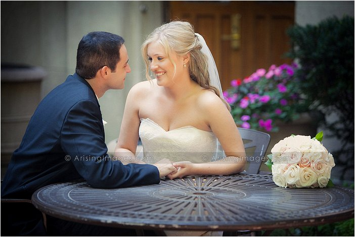 Intimate wedding photography in downtown ann arbor, MI