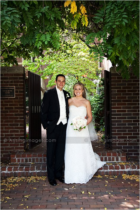 magical downtown ann arbor, MI wedding photography