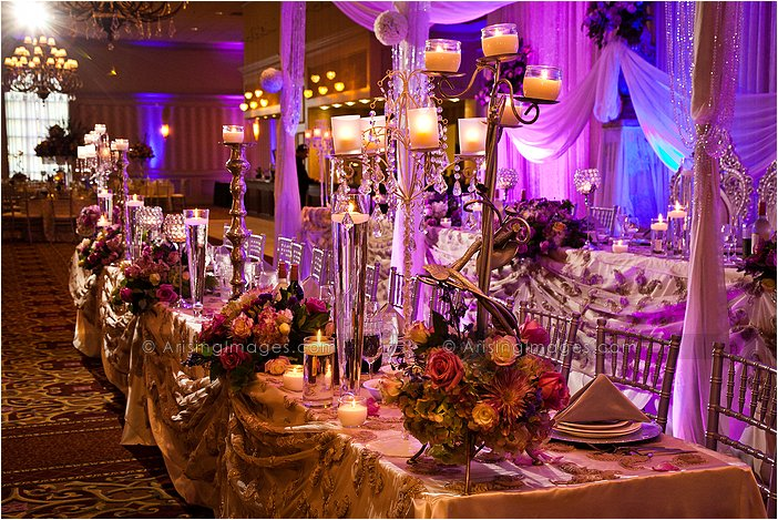 amazing indoor michigan wedding reception decorations at palazzo grande