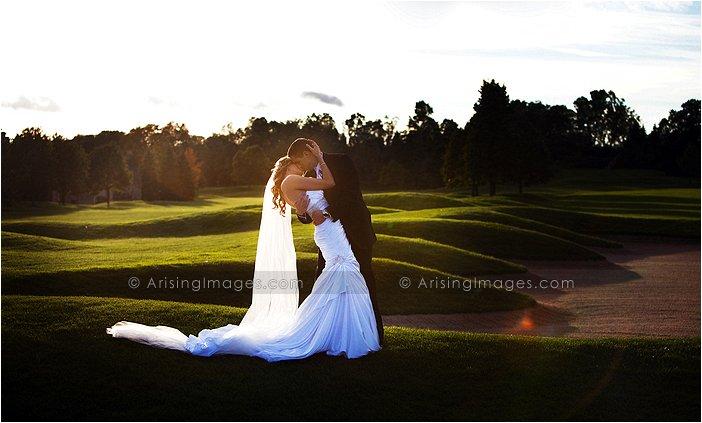 gorgeous indoor wedding photography in michigan