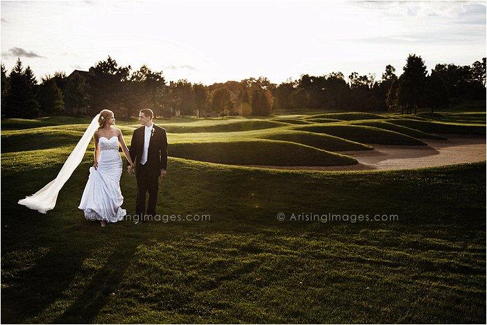 creative wedding photography at heathers club, MI