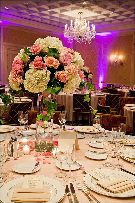 townsend hotel indoor michigan wedding reception photography