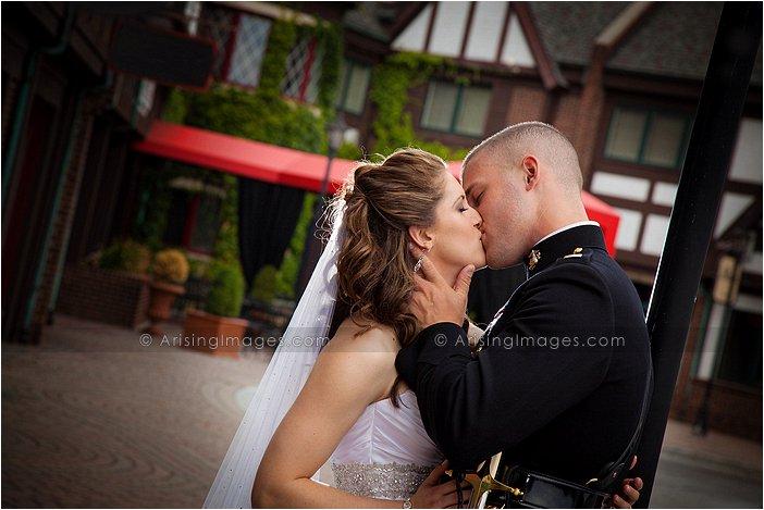 downtown rochester, MI wedding photographer