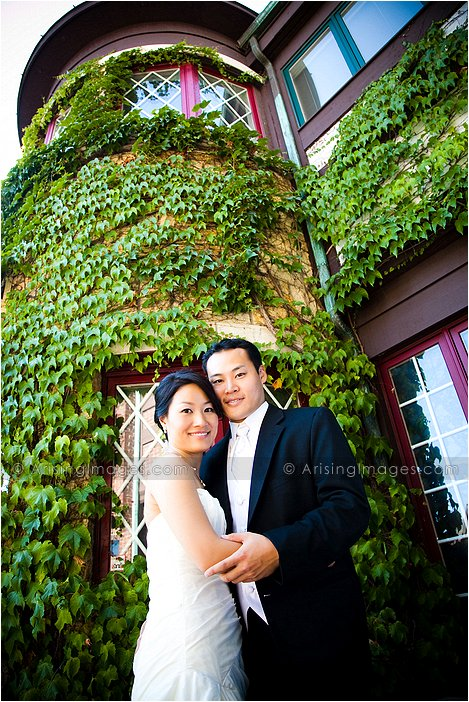 stunning wedding photography in downtown rochester, mi