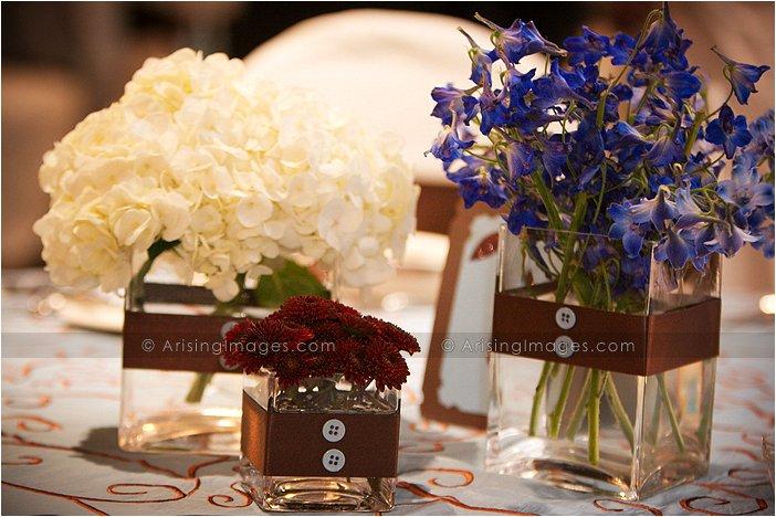 detail shots of indoor michigan wedding reception