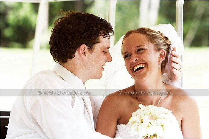 sweet outdoor michigan wedding photography
