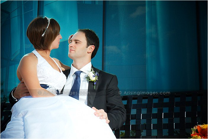 precious wedding photography at westin southfield atrium