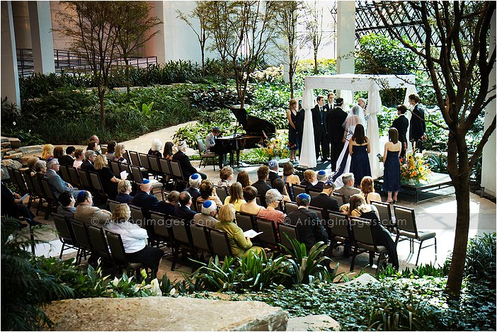 Westin Southfield Atrium Wedding Photography