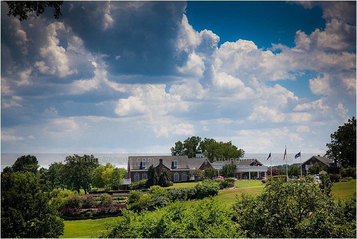 exterior shot of wyndgate country club, rochester, MI