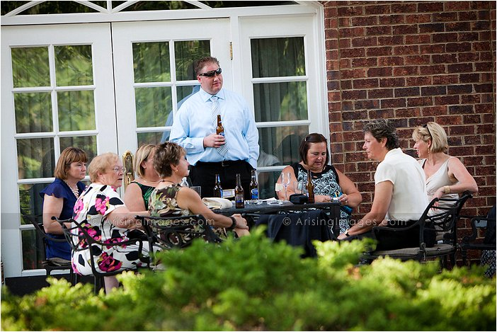 wyndgate country club wedding photographers, cocktail hour