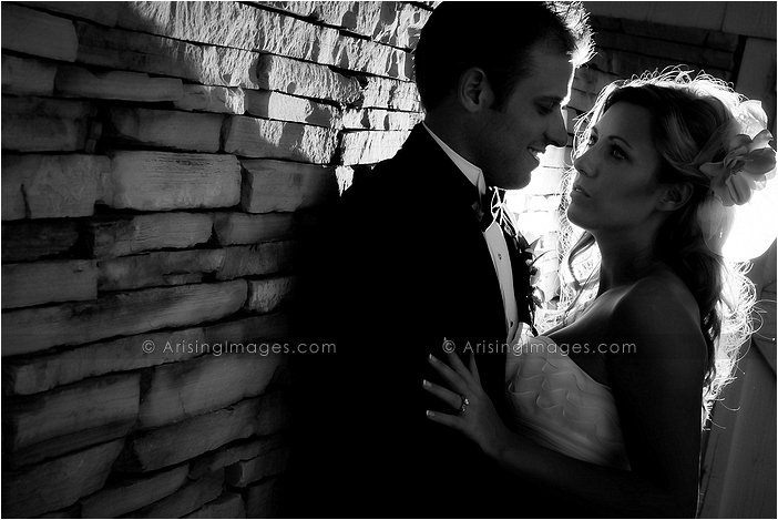 edgy wedding photography at wyndgate country club rochester, MI