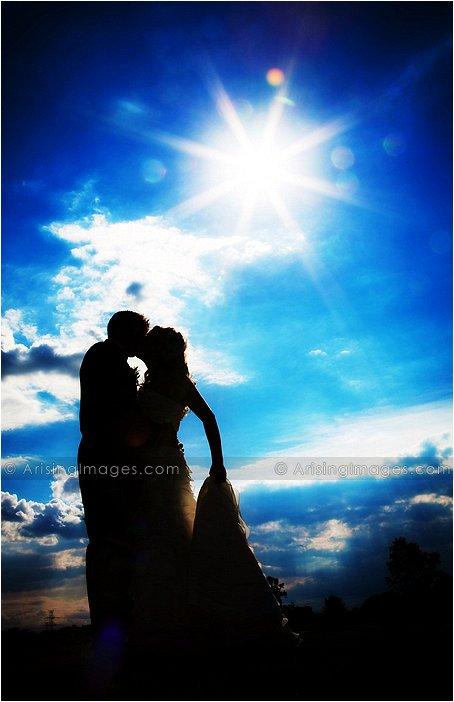 beautiful golf course michigan wedding photography