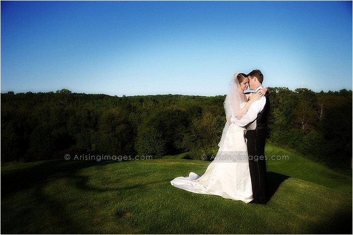golf course wedding photography in michigan