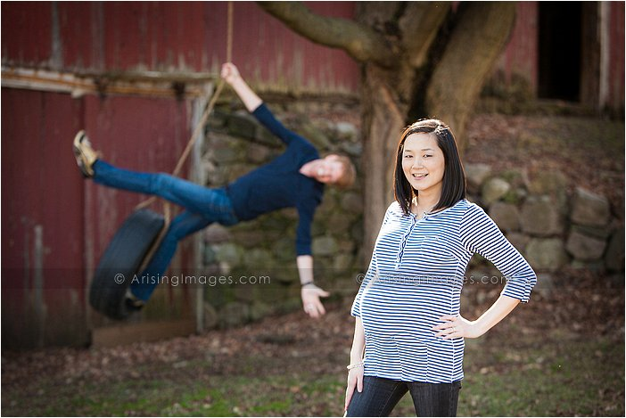 amazing maternity pictures in michigan