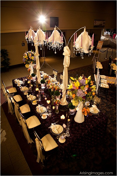 bridal extravaganza done by viviano's flowers